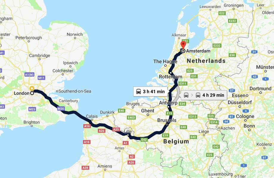 getting easier to travel between london and amsterdam by train