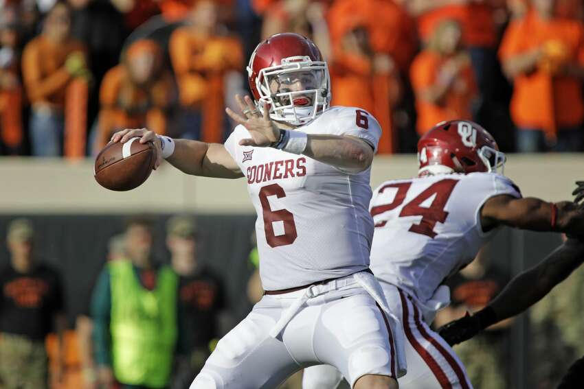 1. Cleveland Browns -- QB Baker Mayfield, Oklahoma The Browns pick up their (latest) quarterback of the future in the 2018 Heisman winner, who will have to overcome less-than-prototypical height and questions about whether his success was engineered by superior coaching in college.
