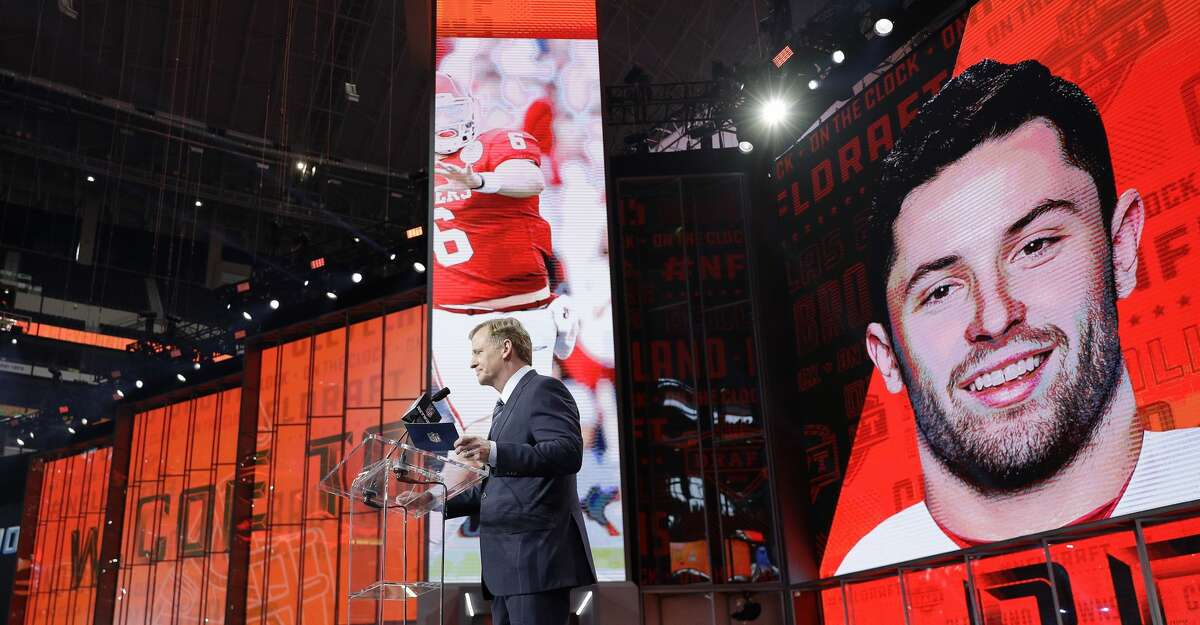 3. Until Wednesday, quarterback Baker Mayfield wasn't mentioned as being Cleveland's choice for the first pick in the draft. It was Sam Darnold or Josh Allen. Then word got out that Darnold was no longer being considered, and it came down to Mayfield or Allen. Then it leaked that general manager John Dorsey had decided on Mayfield as far back as the NFL meetings in March. Naturally, the Mayfield decision was greeted with a lot of skepticism among Browns' fans.