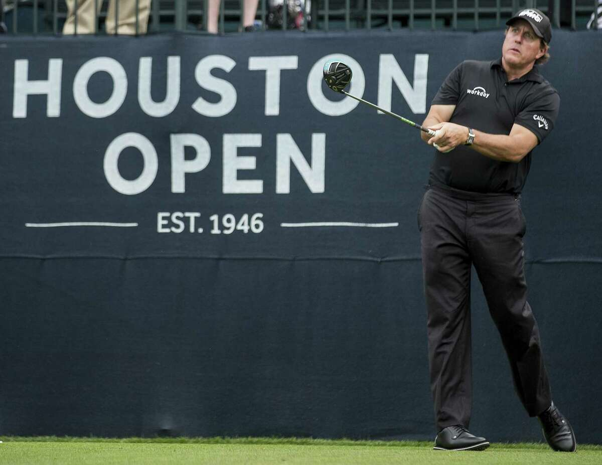 Phil Mickelson has been a Houston Open regular over the years, in part because he uses it as a tuneup for the Masters the following week. But the Houston Open has since lost that spot, its sponsor and now its site.