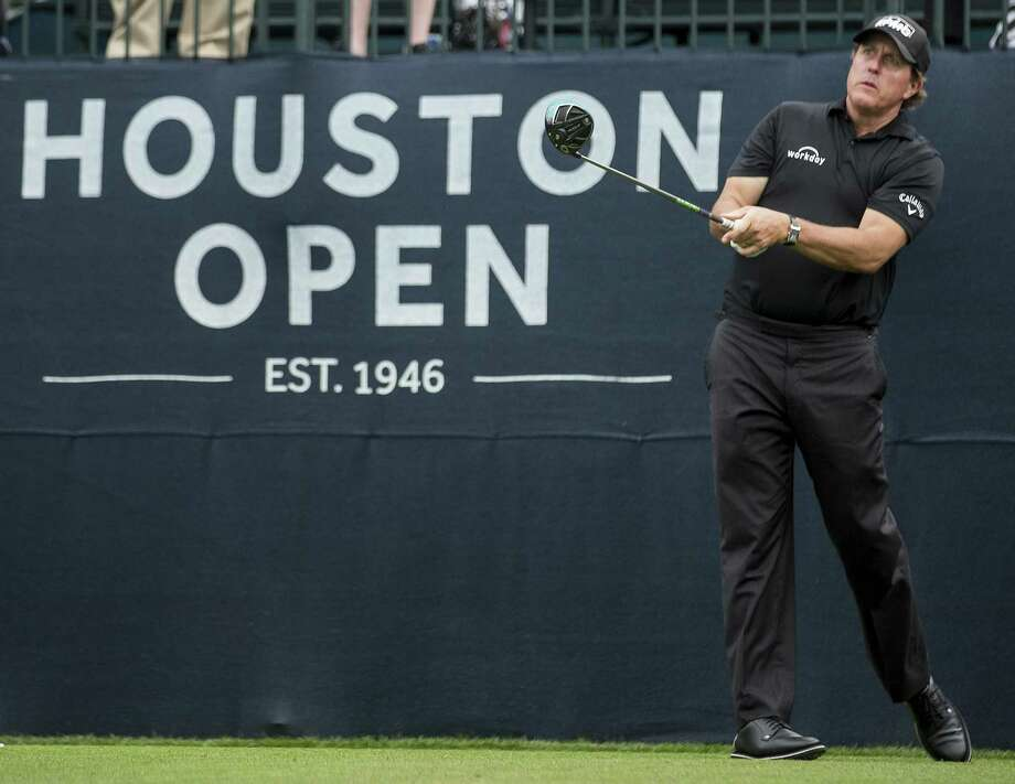 Phil Mickelson has been a Houston Open regular over the years, in part because he uses it as a tuneup for the Masters the following week. But the Houston Open has since lost that spot, its sponsor and now its site. Photo: Brett Coomer, Staff / Houston Chronicle / © 2018 Houston Chronicle