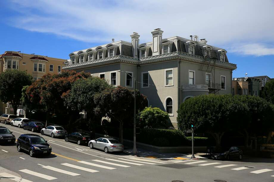 The Archbishop's Mansion off Alamo Square will be part of a global social experiment called Roam, a co-living/co-working network that caters to digital nomads. It adds 19 rooms to Roam's holdings. Photo: Lea Suzuki / The Chronicle