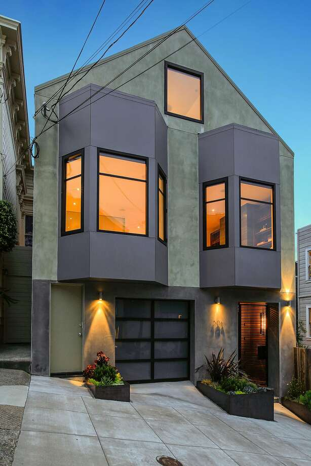 304 Diamond St. is a three-bedroom trilevel in Eureka Valley available for $4.1 million. Photo: Open Homes Photography