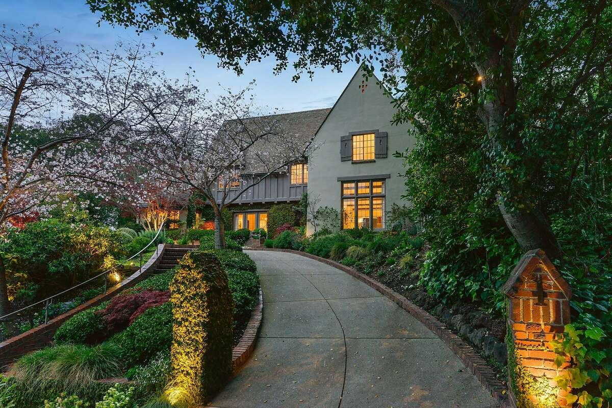 1 Bellevue Ave. in Piedmont is a six-bedroom Tudor available for $5.885 million.