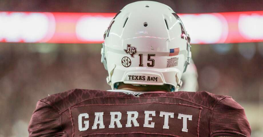 Myles Garrett rounded out the nine prime picks in 2017, as A&M's first No. 1 overall selection in program history. Photo: Bob Levey/Getty Images