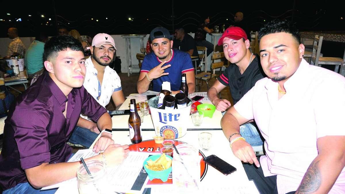 Steban Hernandez, Christian Mercado, Romero Sanchez and Arturo Pulido at Callo De Hacha Friday, April 27, 2018