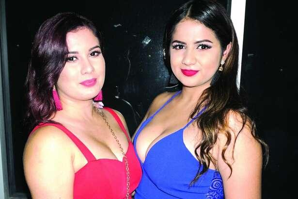 Alejandra and Nayeli Garcia at Club Vibe   Friday, April 27, 2018