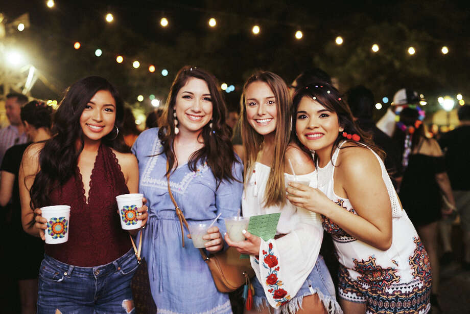 Fiesta spirit was in full force on Thursday, April 27, 2018, during college night at NIOSA. The tradition brought a fun crowd ready to throw down on food and booze during the heart of Fiesta. Photo: Chavis Barron, For MySA.com