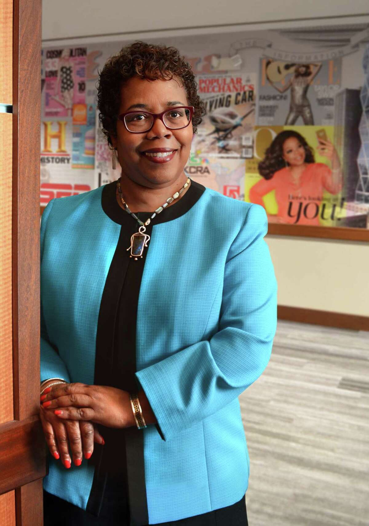 Gretchel Hathaway, Dean of Diversity and Inclusion, Chief Diversity Officer at Union College, will leave the school Aug. 3 for a new post at Franklin & Marshall in Lancaster, Pa. (Colleen Ingerto / Times Union)