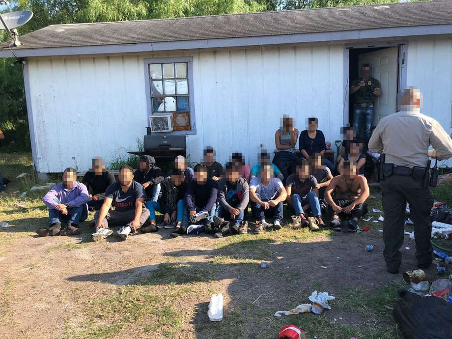 Border Patrol agents discovered a stash house in Weslaco on April 23. Agents apprehended 21 illegal aliens. Photo: Courtesy CBP