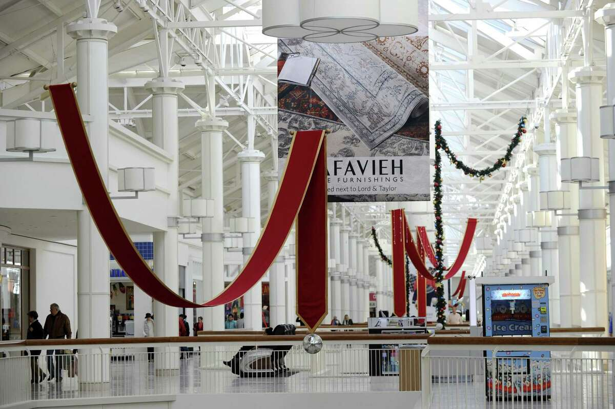 Stores at the Danbury Fair mall are gearing up for the holidays, Friday., Nov. 17, 2017. The mall accounts for about 2,000 jobs in the city.