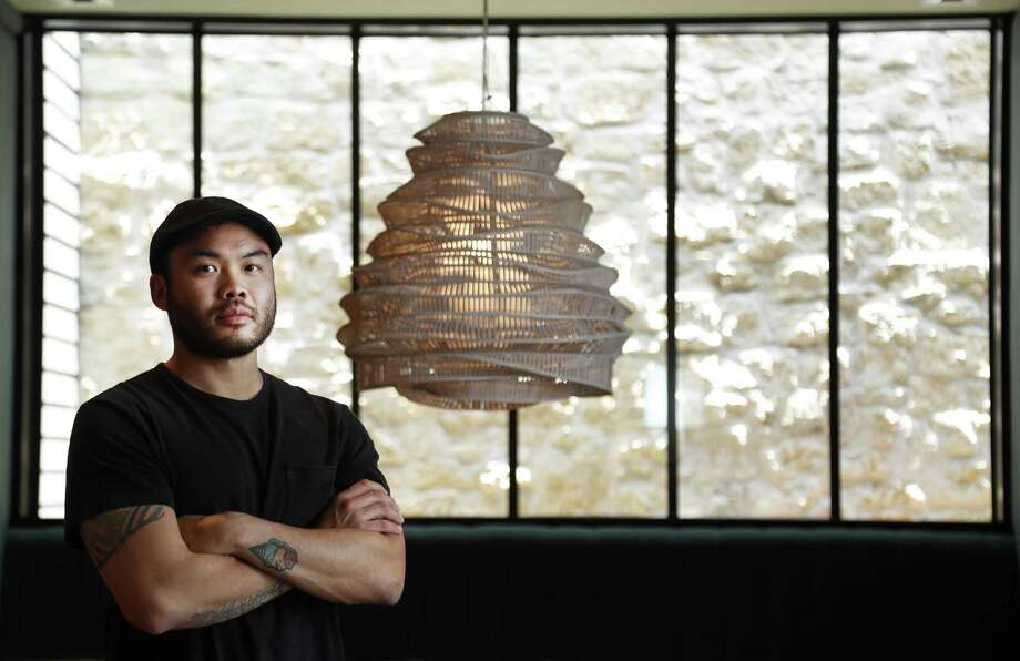 James Beard Award-winning chef Paul Qui in his new restaurant, Aqui in Houston. Photo: Karen Warren, Staff Photographer / Houston Chronicle / @ 2017 Houston Chronicle