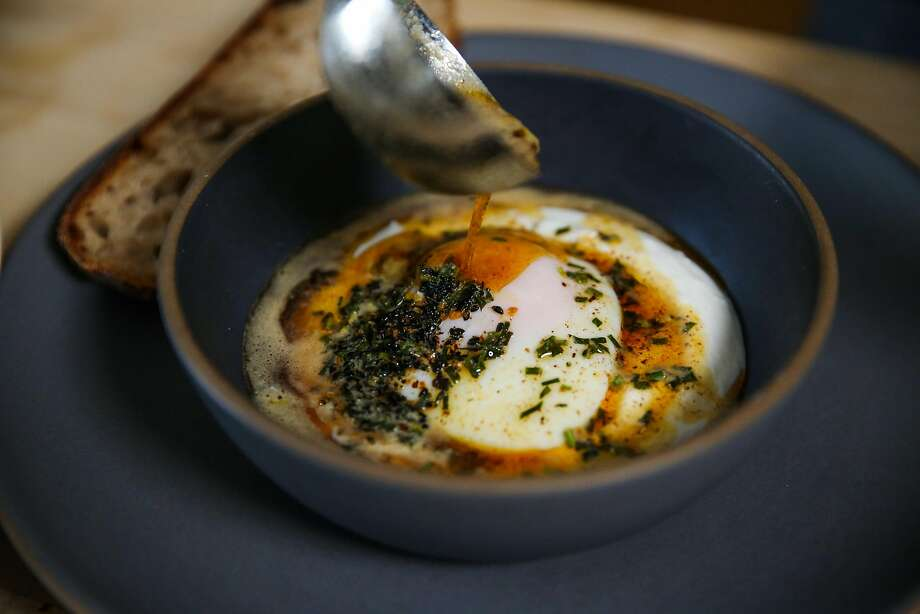 Turkish eggs. Photo: Gabrielle Lurie / The Chronicle