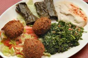 Hanna's in Danbury is both a sit-down Lebanese restaurant and a grocery store that packs up the restaurant menu items for takeout.