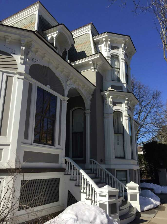 150 Phila St., Saratoga Springs, will be the site of a porch party Thursday, May 10, to benefit the Saratoga Springs Preservation Foundation. It's also a stop along a self-guided tour of historic homes May 12. (Photo provided)