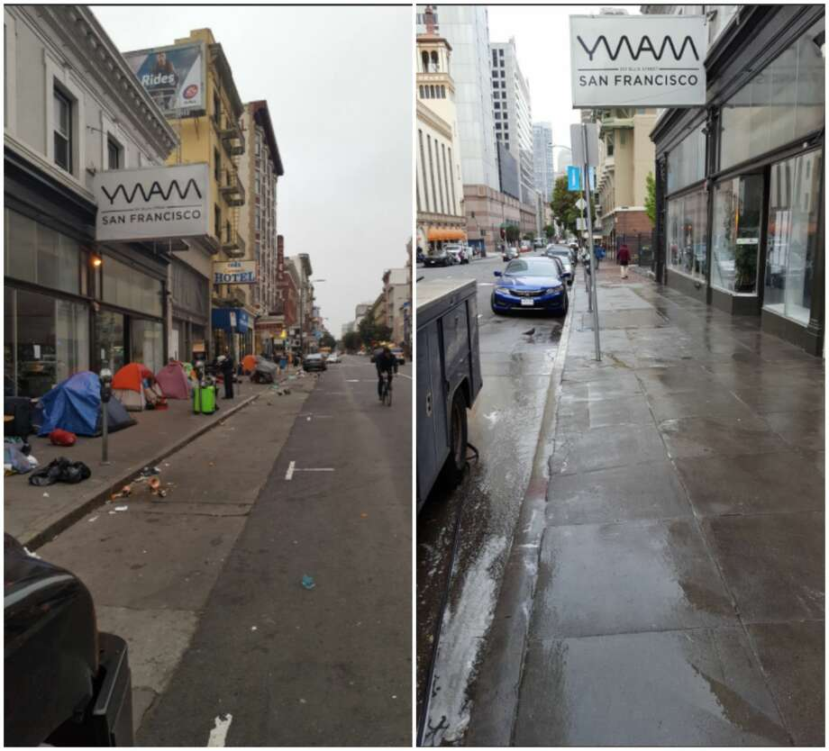 twitters stylish san francisco. SFPD\u0027s Tenderloin Station Shared Before-and-after Images Of A Tent Removal In The Twitters Stylish San Francisco W