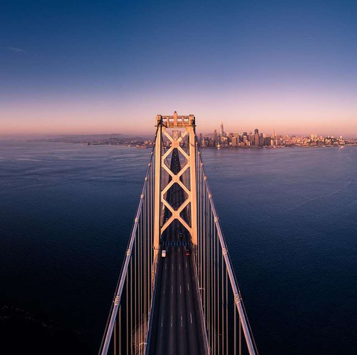 The Bay Bridge at Sunrise @91kilometers