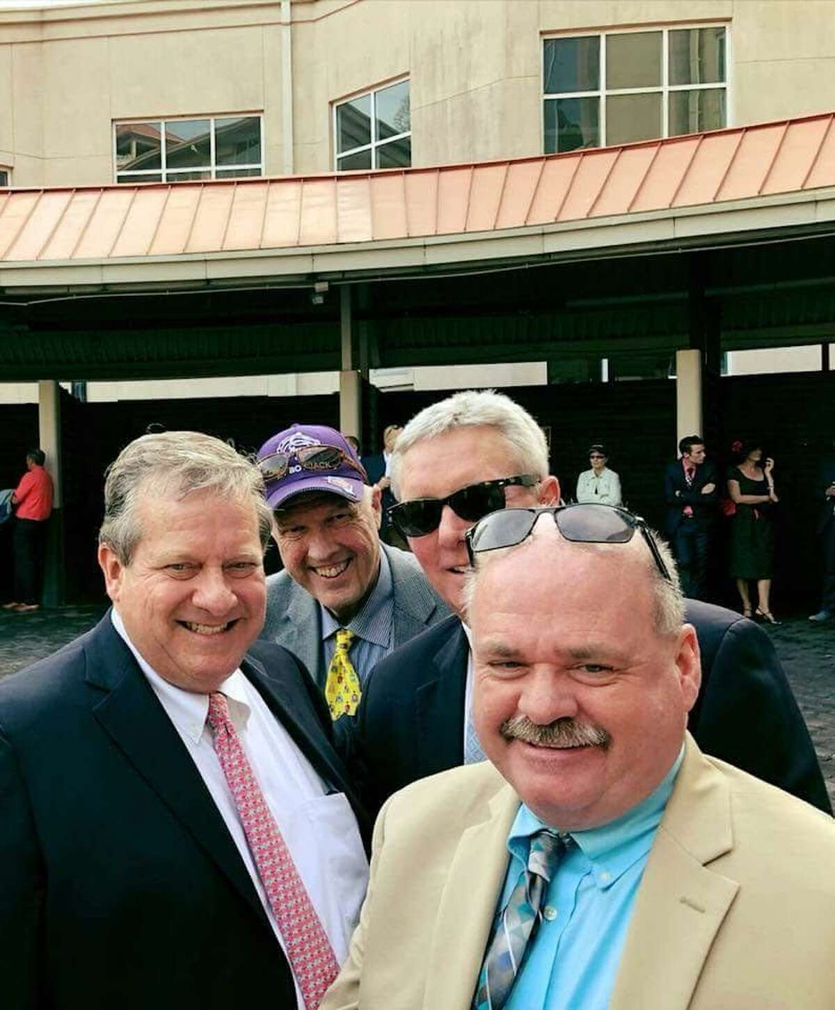 Mike Gualtieri, president of ProCourier in West Hartford is part owner of My Boy Jack, who is a 20-to-1 shot in the upcoming Kentucky Derby.