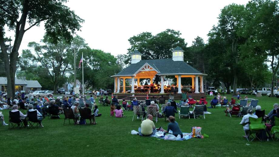 Members of the Stratford Community Concert Band will present free evening concerts on Tuesday, June 9, and Tuesday, July 7, at the Paradise Green Gazebo, Stratford.  Wayne Hiller, of Bridgeport, will conduct. Photo: Contributed Photo / Contributed Photo / Connecticut Post Contributed