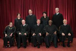 These are the folks — the nine Supreme Court justices — who will decide if excessive partisan gerrymandering is unconstitutional, with a ruling expected this summer.