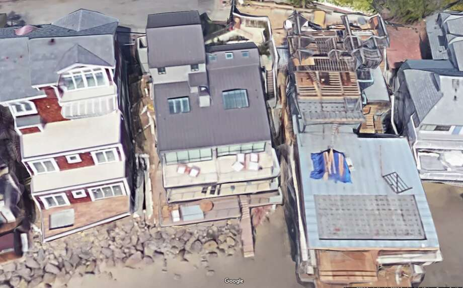 6fbf04a06d41 A Google satellite image depicts a house (center) reportedly bought  recently by Warriors player