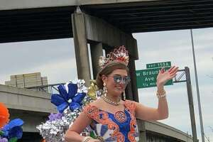 San Antonians showed up in force Friday, April 27, 2018, for the annual Battle of Flowers parade.