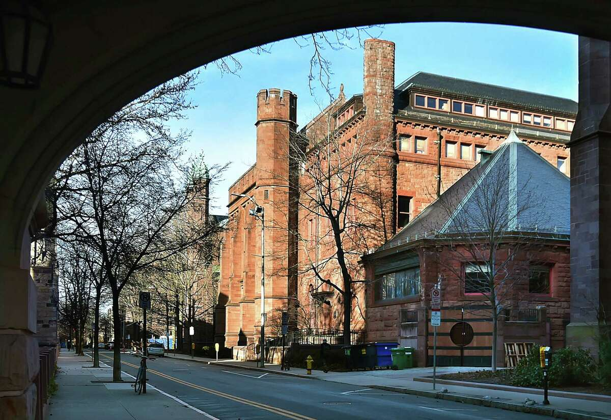 Linsly Chittenden Hall at 63 High Street at Yale University in New Haven.