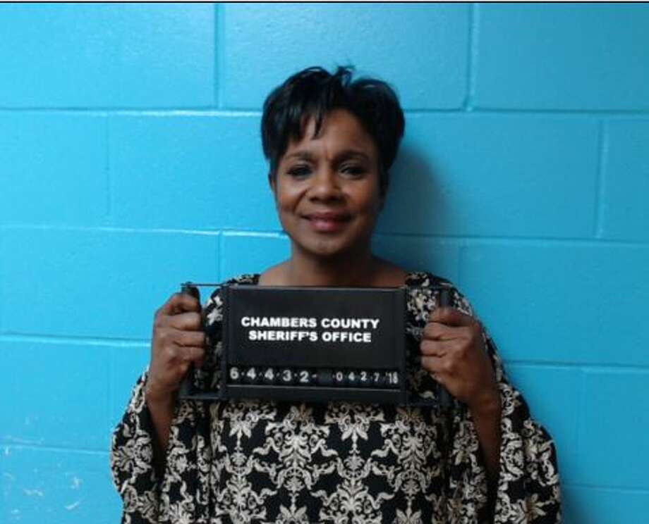 Jefferson County Sheriff Zena Stephens is accused of accepting cash campaign contributions over $100, and of tampering with a government record, which is a felony. Photo provided by Chambers County Sheriff's Office.