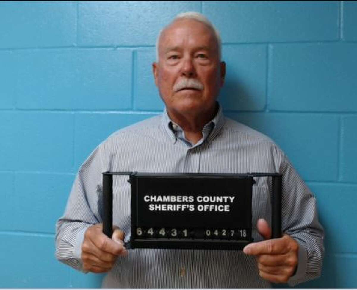 Ray Beck, who ran for sheriff against Stephens in 2016, is accused of accepting a cash campaign contribution over $100, and failing to return the contribution in violation of the Texas Election Code. Photo provided by the Chambers County Sheriff's office.