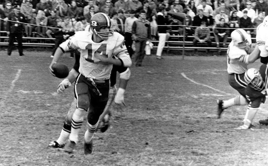 Bob Baron, the owner of Kentucky Derby entry Promises Fulfilled, was a standout quarterback at RPI from 1969 to 1971. (Courtesy of RPI Athletic Communications)