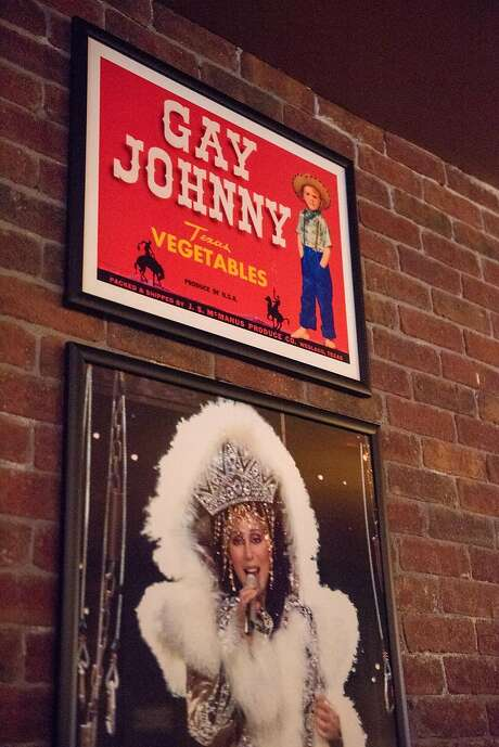 Details on the wall at Hamburger Mary's, which recently returned to San Francisco. Photo: Rosa Furneaux / Special To The Chronicle