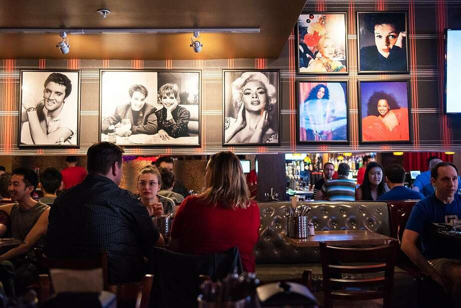 Hamburger Mary's, a national chain that began in San Francisco, packs in customers in a space that was vacant since 2000. Photo: Photos By Rosa Furneaux / Special To The Chronicle