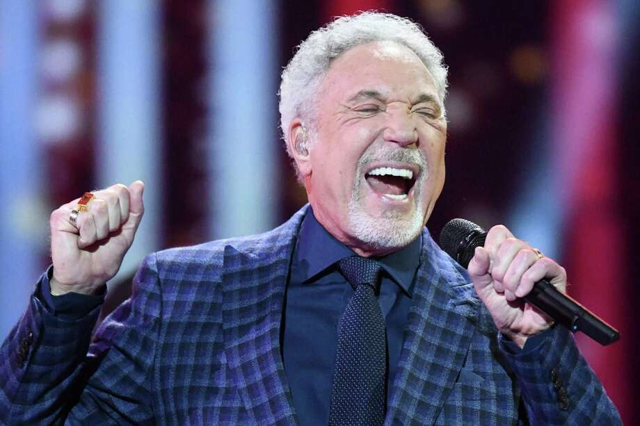 Tom Jones performs at The Queen's Birthday Party concert at the Royal Albert Hall in London on April 21. Photo: Andrew Parsons / AFP / Getty Images / AFP and licensors