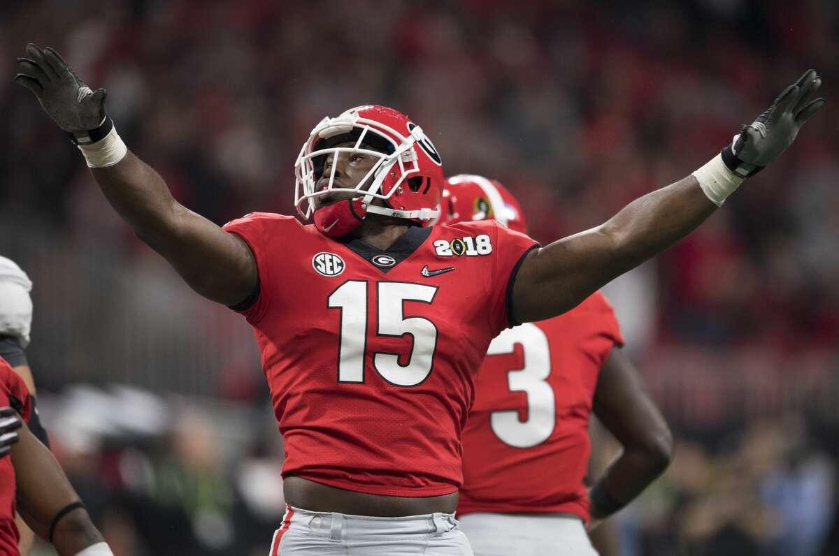 3. Georgia SEC Record: 13-2