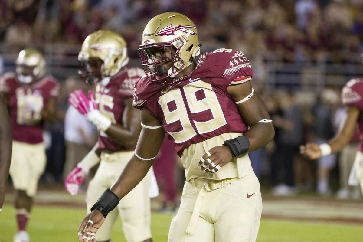 The Washington Post (John Clayton): Florida State DE Brian Burns 6 feet 5, 249 pounds First-team All-ACC selection as junior Added at least 10 pounds of muscle since his last college season ended 2018 stats: 15.5 tackles for loss, 10 sacks, three pass deflections, three fumbles forced