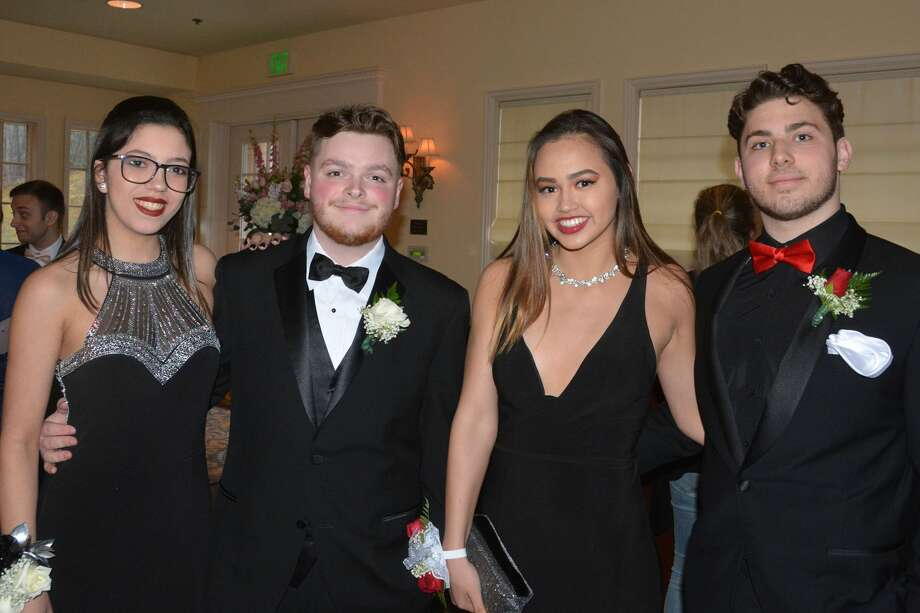 Brookfield High School held its senior prom at the Waterview in Monroe on April 27, 2018. The senior class graduates on June 23. Were you SEEN at prom? Photo: Vic Eng / Hearst Connecticut Media Group