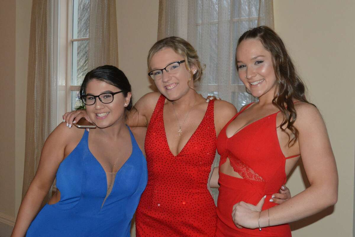 Trend: Red, Cerulean blue Brookfield High School held its senior prom at the Waterview in Monroe on April 27, 2018. The senior class graduates on June 23. Were you SEEN at prom?