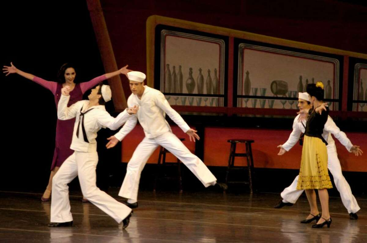 New York City Ballet dancers will perform at SPAC in Saratoga Springs. (Michael P. Farrell / Times Union)