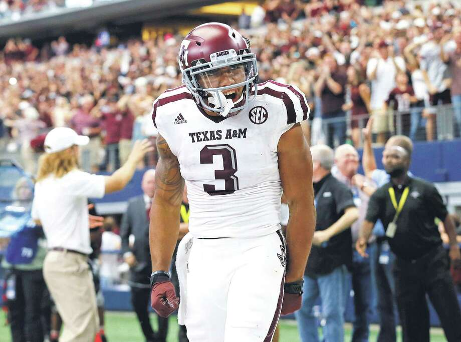 Skipped in the first round, Texas A&M's Christian Kirk can take second-round solace as a Cardinal. Photo: Tony Gutierrez, STF / Associated Press