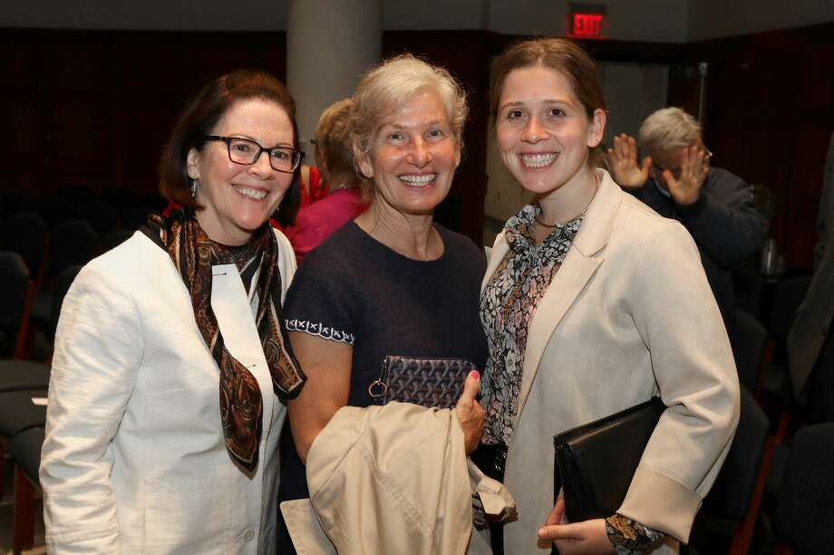"""Were you Seen at 2018 William Randolph Hearst Lecture – """"Women and Leadership: Equipping the Next Generation for Success"""" held in the Carl E. Touhey Forum at the Thelma P. Lally School of Education at the College of St. Rose in Albany on Thursday, April 26, 2018? Photo: Joe Putrock/Special To The Times Union"""