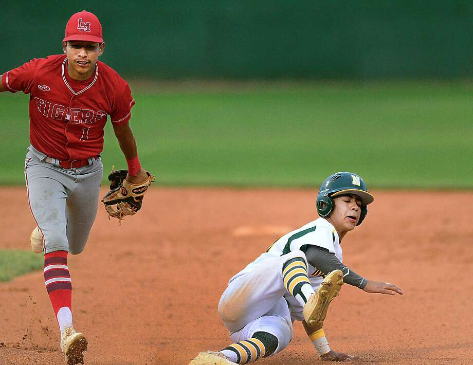 Despite its 6-0 victory over Nixon (6-23-1, 1-15) on Friday night at Veterans Field, Kenny Salas and Martin (16-13, 8-8) were eliminated from playoff contention with Pioneer's win over Roma. Photo: Cuate Santos /Laredo Morning Times / Laredo Morning Times