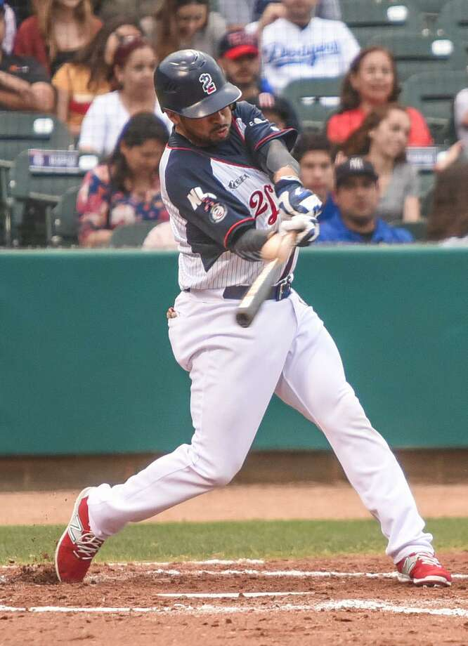 The Tecolotes Dos Laredos lost 13-4 at the Generales de Durango as they dropped their fourth straight series. Third baseman Juan Martinez finished 3-for-3 with a run and an RBI as the Tecos' offense racked up 16 hits in defeat. Photo: Danny Zaragoza /Laredo Morning Times File