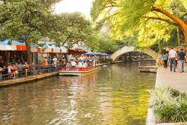 [UNVERIFIED CONTENT] People enjoying a beautiful afternoon at the river walk in San Antonio, Texas.