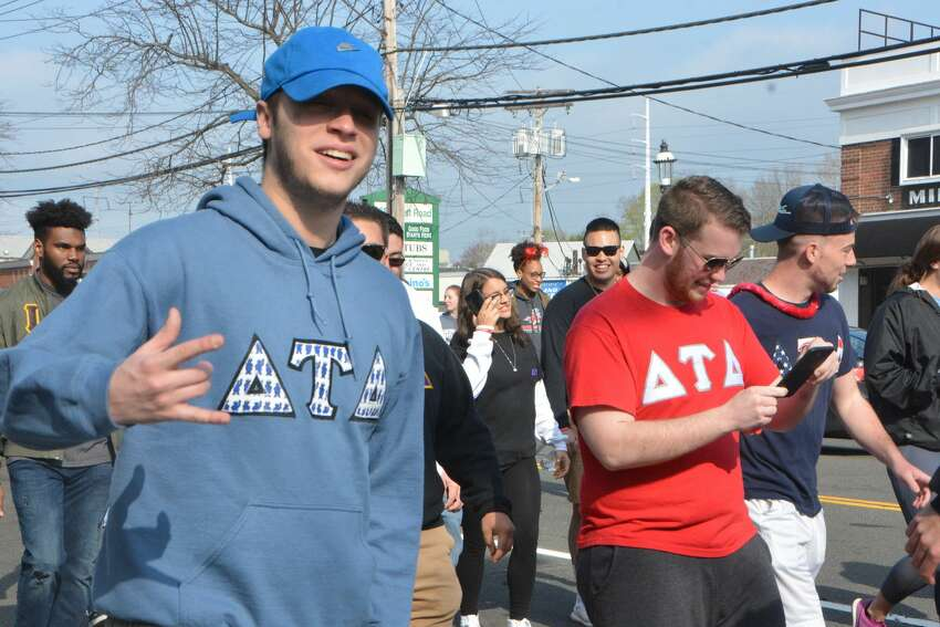 The Center for Family Justice's sixth annual Walk a Mile in Her Shoes event was held in Fairfield on April 28, 2018. The walk raises dollars for the CFJ, which provides crisis and supportive services to victims of domestic and sexual violence, in six Fairfield County communities. It's led by its chairman, Fairfield Police Chief Gary MacNamara, who walked a one-mile route along Fairfield's Post Road wearing a pair of red heels to show his support for victims and survivors. Were you SEEN?