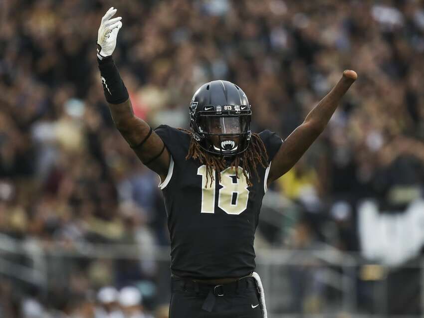 The Seahawks selected Shaquem Griffin, a lineback out of UCF, in the fifth round at No. 141 overall. STRENGTHS: Griffin is an incredible athlete, has great speed and was an elite edge rusher at the college level.