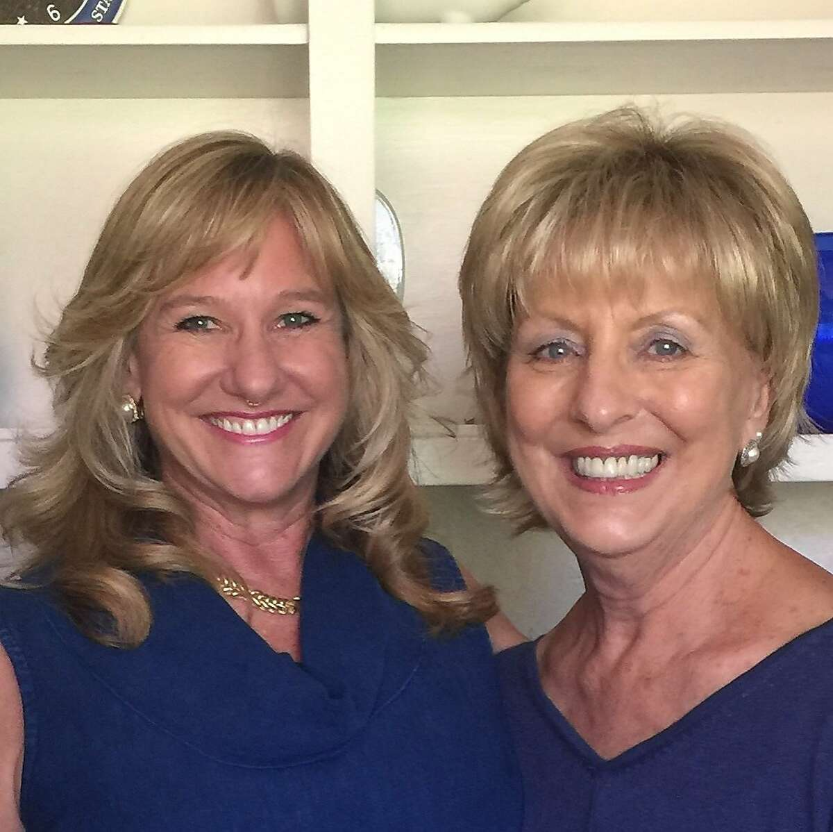 Margaret Wardlow (left) with Carol Daly, one of the detectives who worked on her case. The two reunited 40 years later.
