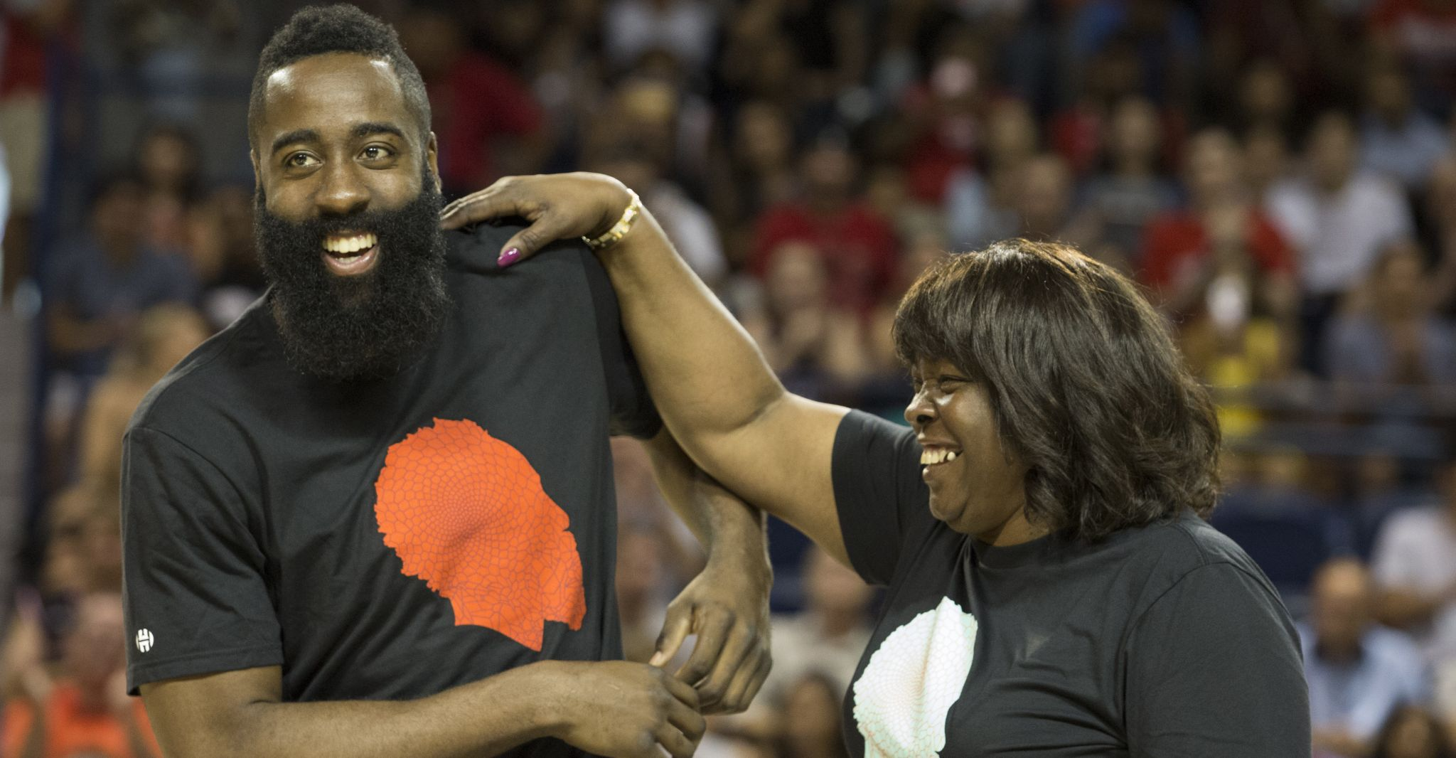 318dac58f400 Rockets  James Harden on his mother s role   I wouldn t call her my agent