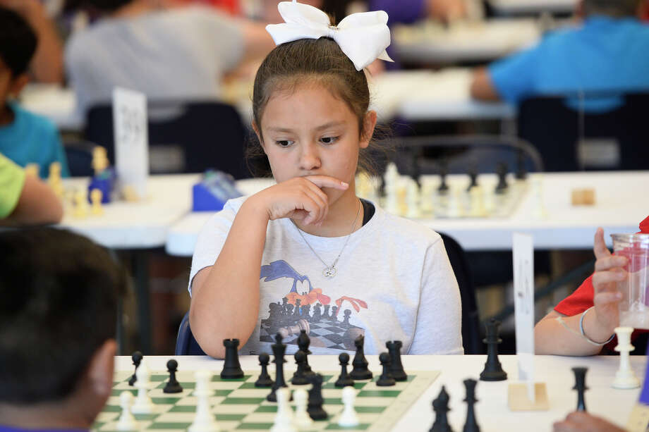 West Texas Chess regional competition April 28, 2018, at Trinity School.  James Durbin/Reporter-Telegram Photo: James Durbin
