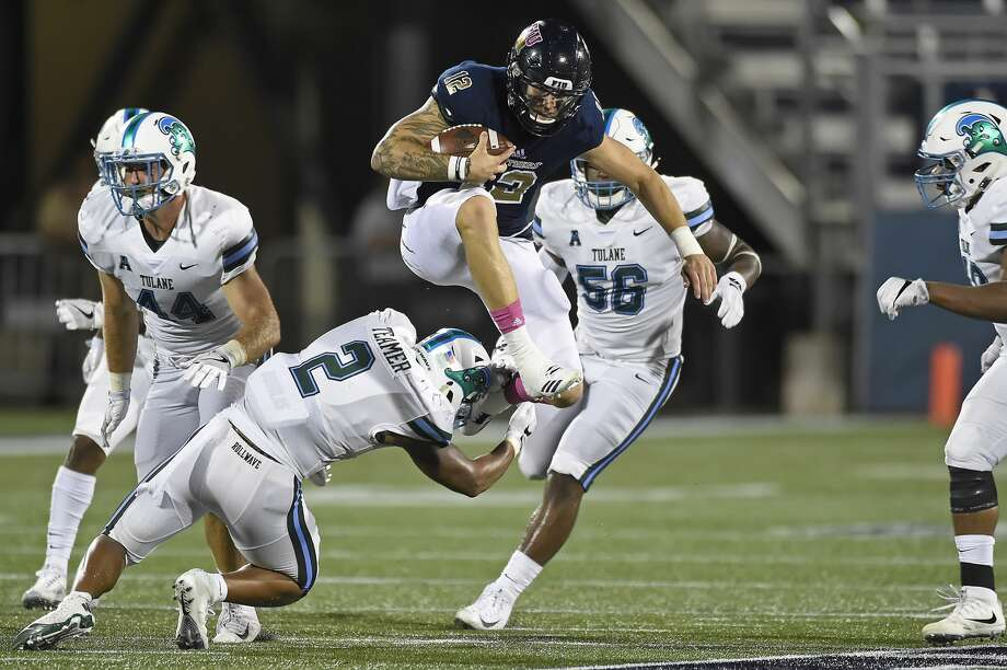 FIU quarterback Alex McGough was selected in the seventh round at No. 220 overall.Strengths: He's not Russell Wilson, but played in that mold in college. McGough showed the ability to make passes at changing angles and to connect with his wideoouts off scrambles. He's one of the most experienced signal callers coming into the NFL after starting for four years in college. Photo: Icon Sportswire/Icon Sportswire Via Getty Images