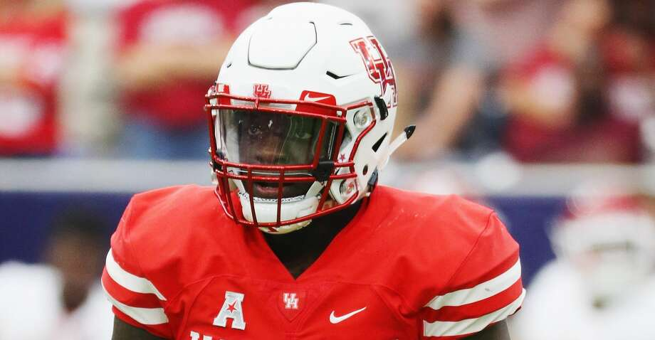 University of Houston linebacker Matthew Adams was selected by the Indianapolis Colts in the seventh round of Saturday's NFL draft. Photo: Scott Halleran/Getty Images